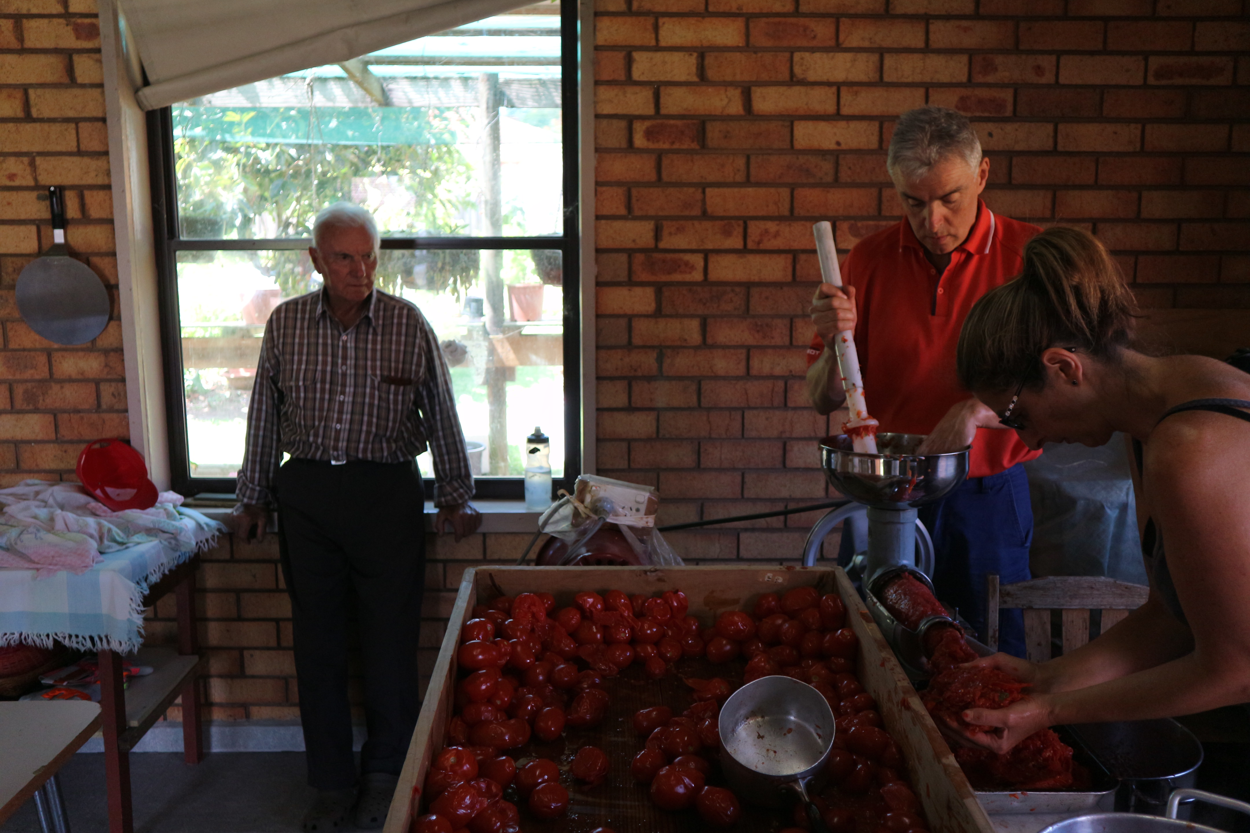 photo essay an italian family tradition tomato sauce making day 7206
