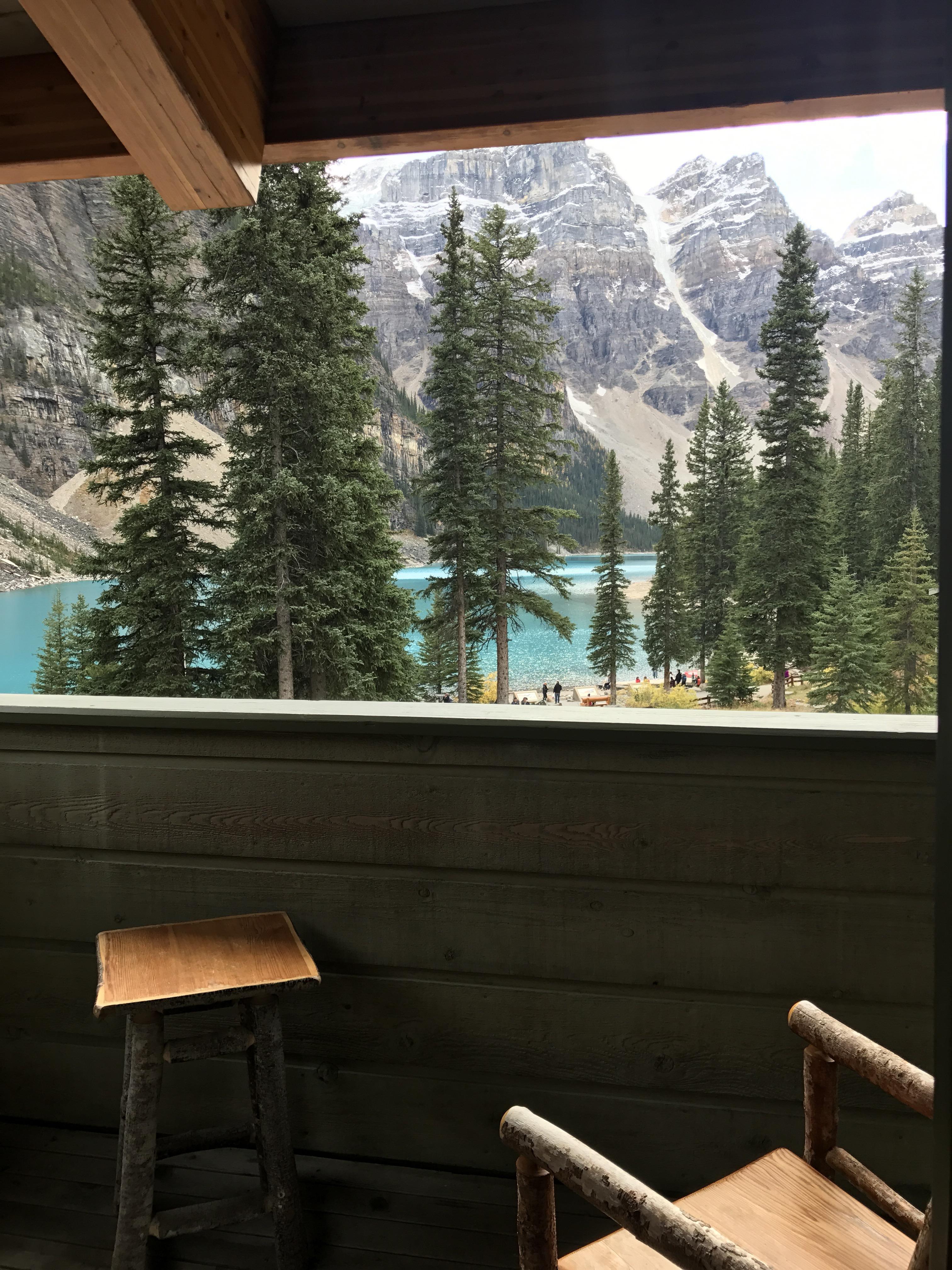 Stay Eat Here Moraine Lake Lodge Alberta Canada