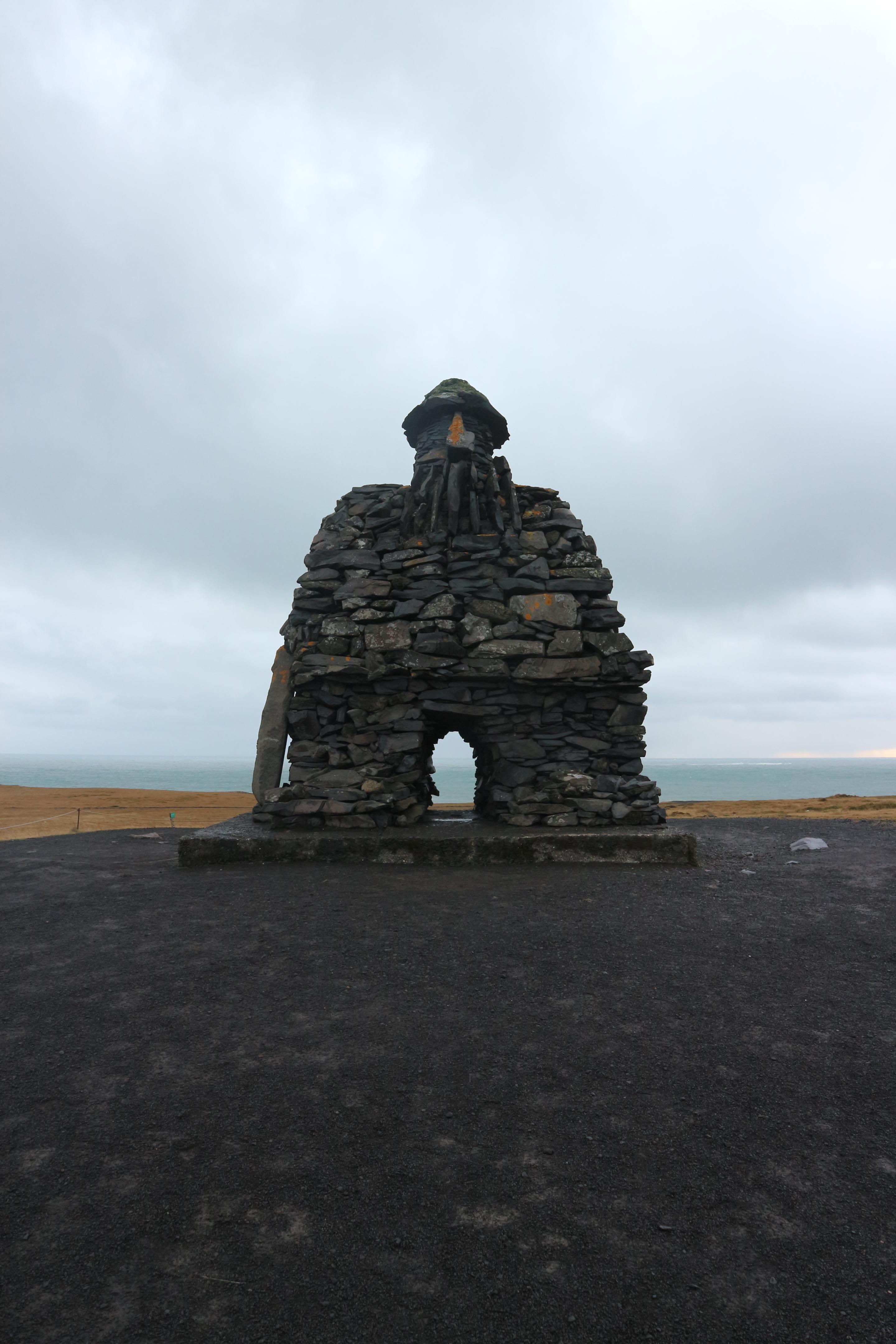 Bárður Snæfellsás, Arnarstapi, Iceland